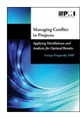 Managing Conflict in Projects: Applying Mindfulness and Analysis for Optimal  Results book jacket