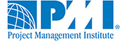 Project Management Institute (PMI) logo blue letters on white background
