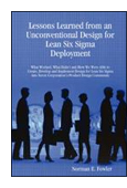 Lessons Learned from an Unconventional Design for Lean Six Sigma  Deployment book jacket image