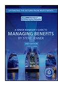 A Senior Manager's Guide to Managing Benefits - 2nd Edition  book jacket image