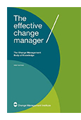 The Effective Change Manager: Change Management Body of Knowledge jacket image