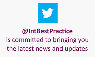 Follow IBP on twitter @IntBestPractice is committed to bringing you the latest news and updates