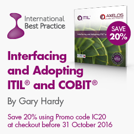 Featured Book for October - Interfacing and Adopting ITIL and COBIT