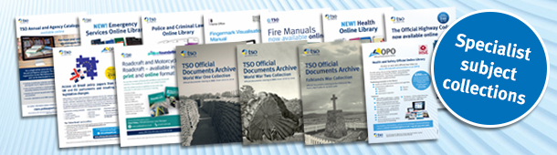 Official Publications Online - Specialist Libraries