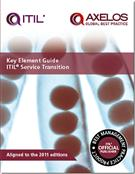 Key Element Guide ITIL Service Transition - Pack of 10 - Front